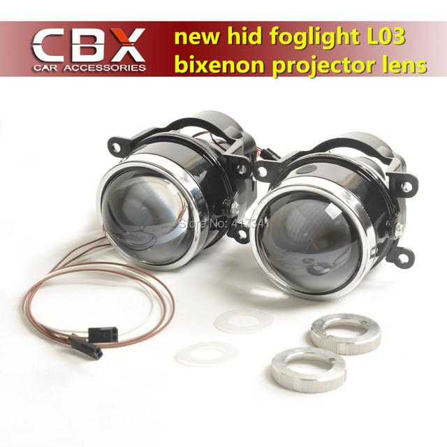 CBX Mais Novo LÍDER Bixenon Lente Do Projetor luz de Nevoeiro Brilhante como Hella L03 com Lâmpada HID D2H Especial À Prova D' Água Usado para Muitos Carros