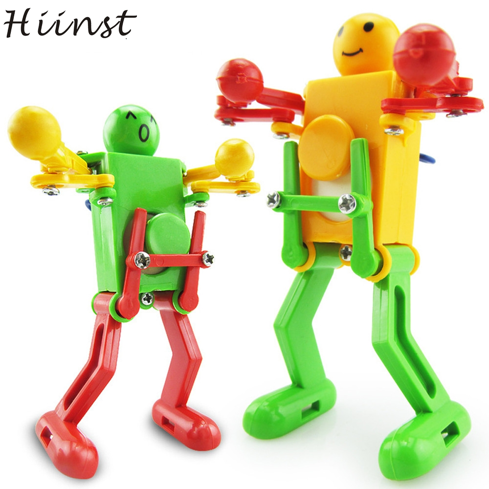 HIINST Colorful Clockwork Wind Up Dancing Robot Toy For Baby Kids Developmental Gift Puzzle Toys Clockwork Dancing Robot Aug14 dayan gem vi cube speed puzzle magic cubes educational game toys gift for children kids grownups