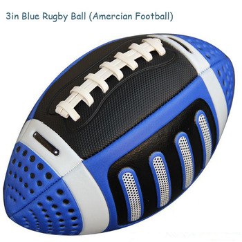 Size 3 Rugby Ball American Rugby Ball American Football Ball Kid Children Sport match standard Training US rugby street football