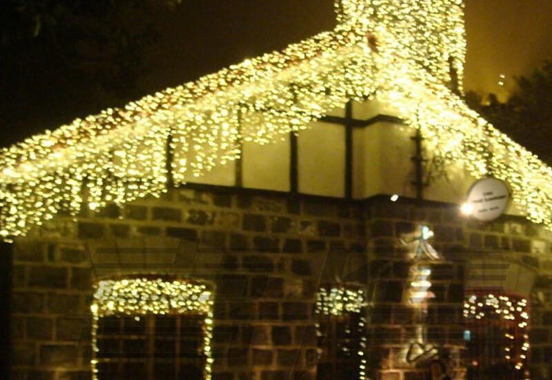 201610m*0.65m 320led Light Flashing Lane Led String Lamps Curtain Icicle Christmas Festival Lights 110v-220v Eu Uk Us Au Plug christmas decoration 6 3m droop 600 led curtain string lights icicle 220v for new year garden christmas led light curtain