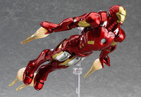 Free shipping Figma MAX EX 018 EX 026 The Avenger Ironman 15cm Marvel Iron Man Action Figure Model Toys