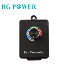Variable Dial Fan Controller Switch Centrifugal Inline Duct Exhaust With Knob Button 4 Model Fan Speed Controller 350W AC 110V цены