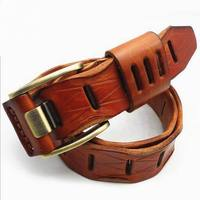 Good Quality Cow Genuine Luxury Leather Men Belts For Men Women Real Cow Skin Straps Men