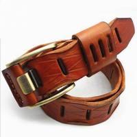 Good Quality Cow Genuine Luxury Leather Men Belts For Men Women Real Cow Skin Straps Men