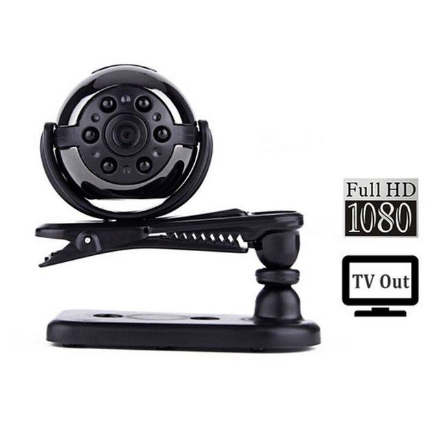 SQ9 1080P Mini Camera 360 Degree Rotation Clip  Infrared Night Version Motion Detection Micro Camera Espia Mini Kamera Mini DV