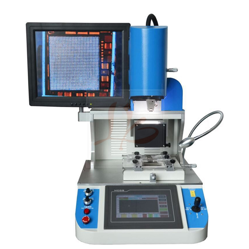 automatic bga reballing station LY 5300 rework machine with 3 heating zones for phone chips repair tool optical alignment system ly 5300 mobile bga rework station 3 zones 2500w free tax to russia