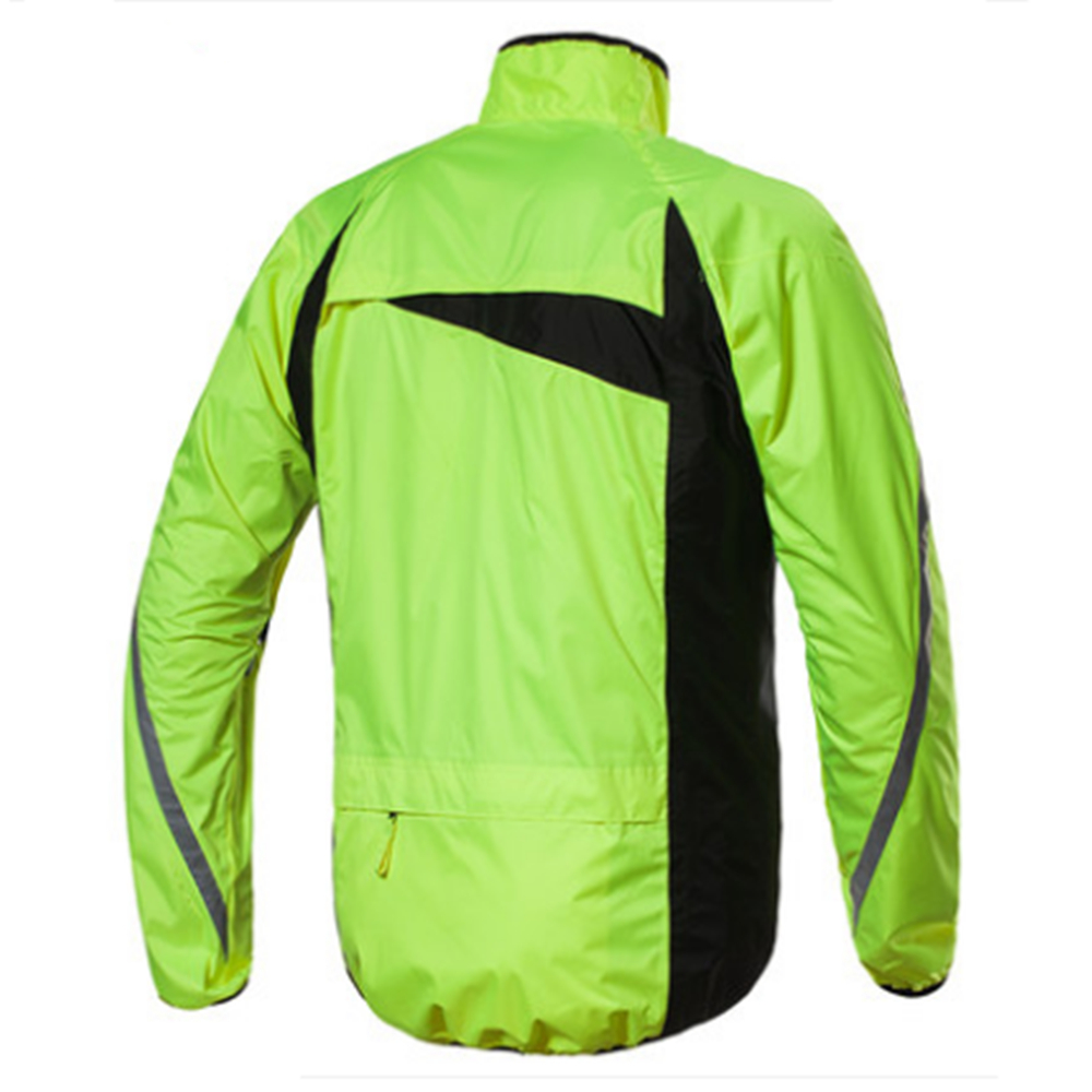 Fashion sports raincoat men waterproof raincoat suit motorcycle rain jacket poncho M-XXL rain coat rain shoes 2