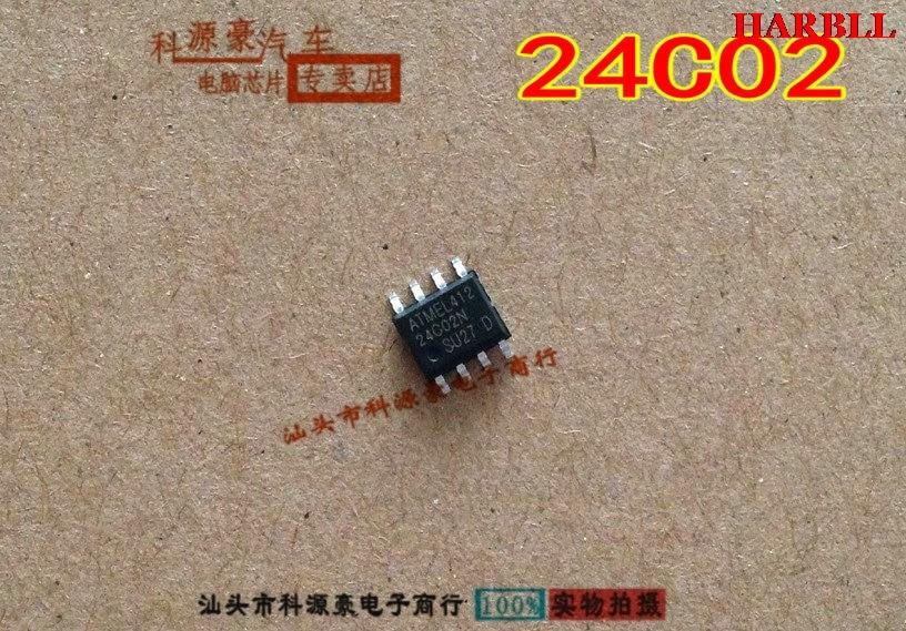 10Pcs 24C02 SOP8 SOP8 New