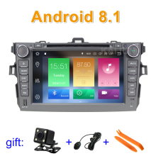 Android 8.1 Car DVD Player GPS stereo radio for Toyota Corolla 2007 2008 2009 2010 2011 with BT wifi