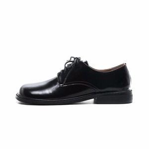 Image 2 - 2021 Fashion Brand Shoes Genuine Leather Thick Heel Spring Strange Style Women Pumps Round Toe Lace Up British School Shoes L73