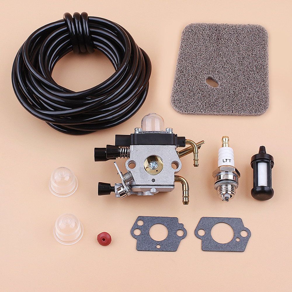 Carburetor Carb 5 Meter Fuel Line Filter Kit For <font><b>Stihl</b></font> <font><b>FS38</b></font> FS45 FS46 FS55 FC55 FS74 FS85 FS75 FS80 KM85 HS75 HS80 HS85 Trimmer image