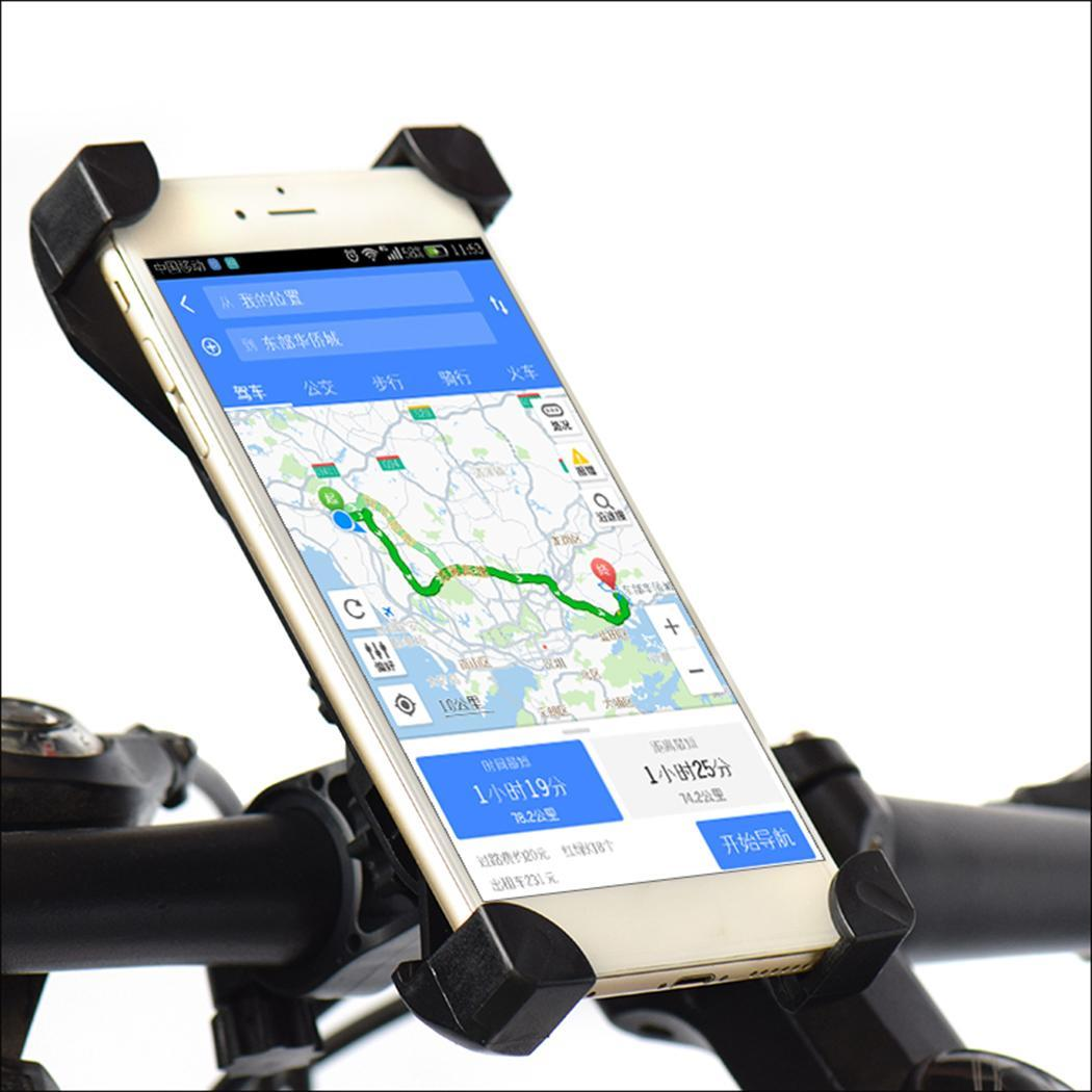 New Bicycle Bike Bag Bicycle Phone Holder Bracket Handlebar Durable Motorcycle Rotating 360 Degrees Phone Stand For Cellphone 360 degrees