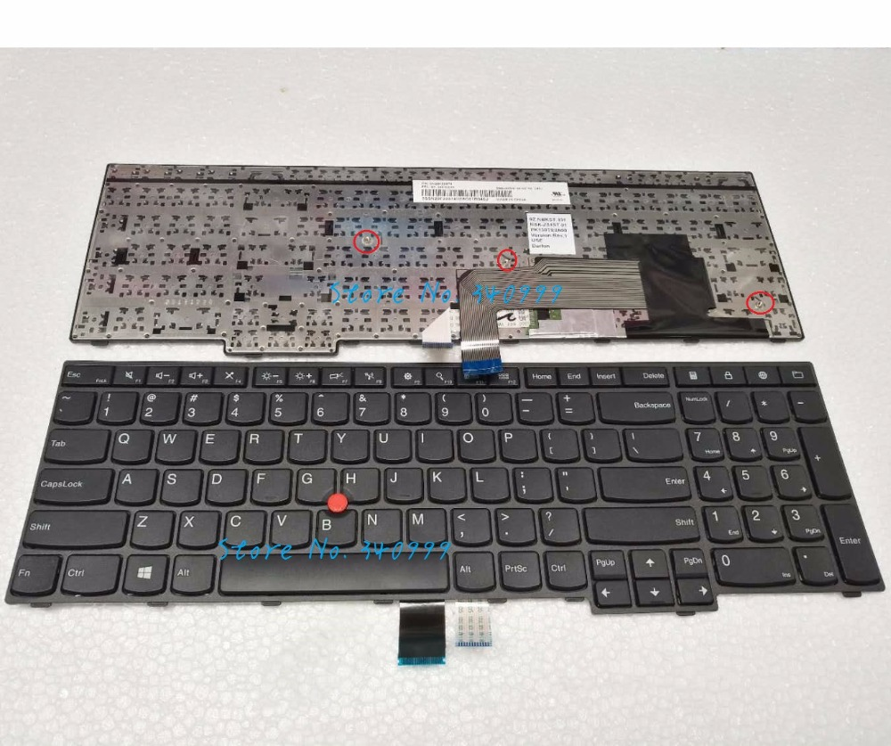 New Original Keyboard for Lenovo IBM Thinkpad E550 E550C E555 US seller