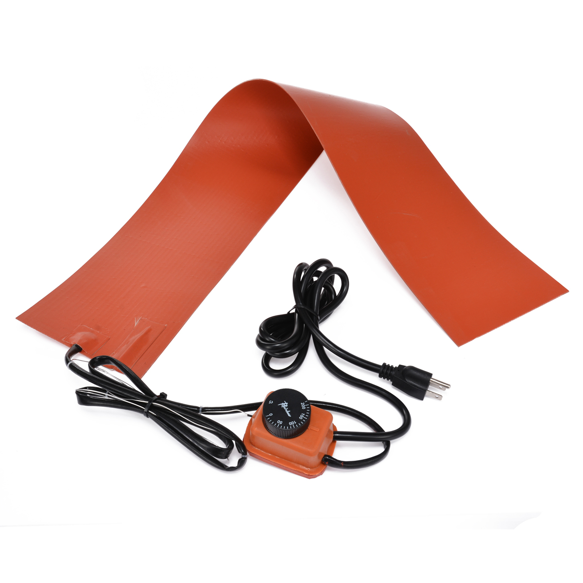 15x91.5cm 1200W 110V// 220V Silicone Heating Pad For Guitar Side Bending Parts