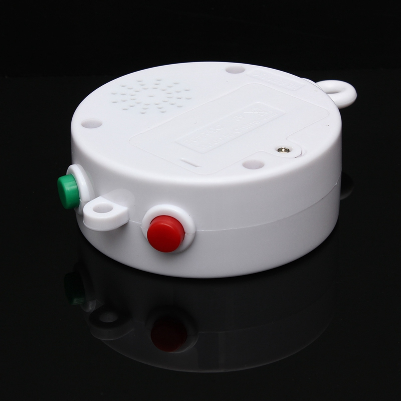 12 Melodies Song Baby Crib Toy Mobile Bed Bell Kid Toy Electric Autorotation Music Box Early Learning Kids Educational Rattles #4