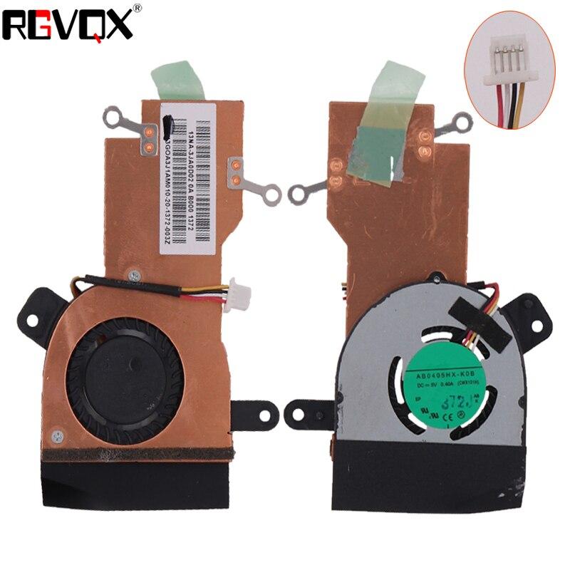 NOUVEL Ordinateur Portable Ventilateur De Refroidissement Pour ASUS EEE PC X101H Radiateur PN: AB0405HX-K0B Refroidisseur/Radiateur