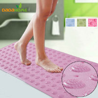 38 71cm Candy Color Scrub Massage Antideslizante Ducha Shower Mats Non Slip Tapete Banheiro Rug Set