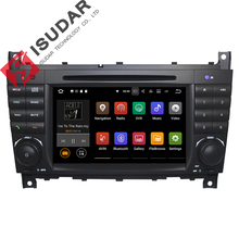 Wholesale 2 Din 7 Inch Android 7.1 Car DVD Player For Mercedes/Benz/Sprinter/W203/A180/Viano/Vito/W639/A-class Wifi GPS Radio