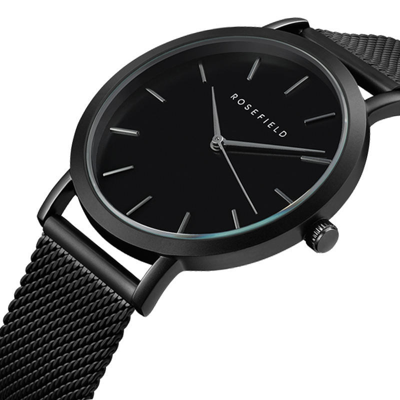 2019-new-luxury-brand-rosefield-modern-fashion-black-quartz-watch-men-women-mesh-stainless-waterproof-watch-male-clock
