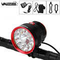 30000lm Fiets Lamp 14x XML T6 LED Koplamp Oplaadbare Fiets Front Light Zaklamp Fiets Accessoires + 8.4v Battery Pack + lader