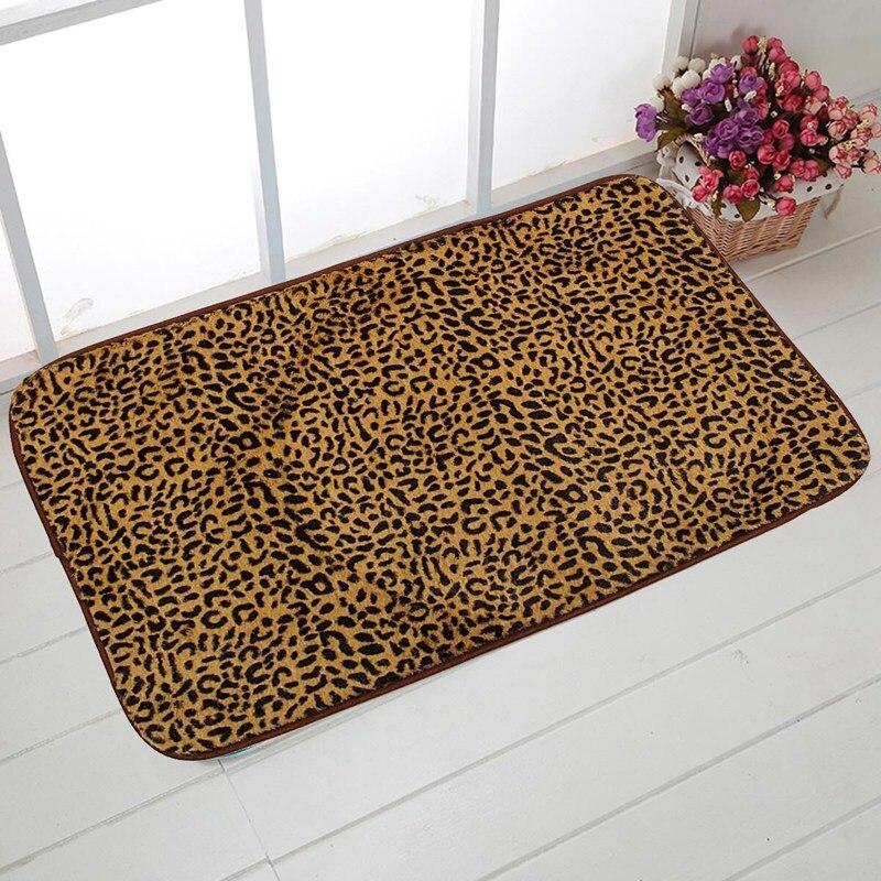 online kaufen gro handel leopardenmuster bad teppich aus. Black Bedroom Furniture Sets. Home Design Ideas