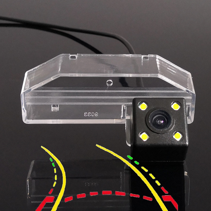 Intelligent Dynamic Trajectory Tracks Car Rear View Camera For Mazda Mazda6 Atenza RX-8 CX-9 3 6 GH Ruiyi 2007 2008 2009 2010-12