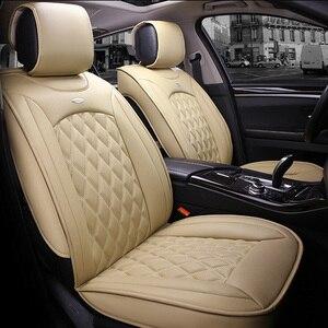 Image 5 - Универсальный чехол для автомобильных сидений для toyota corolla camry avensis rav4 chr land cruiser prado премио, защита для всех моделей автомобильных сидений