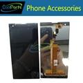 1 PC/Lot de Alta Calidad de color Negro Para Fly IQ4511 Pantalla LCD Y Reemplazo de la Pantalla Táctil Envío Gratis
