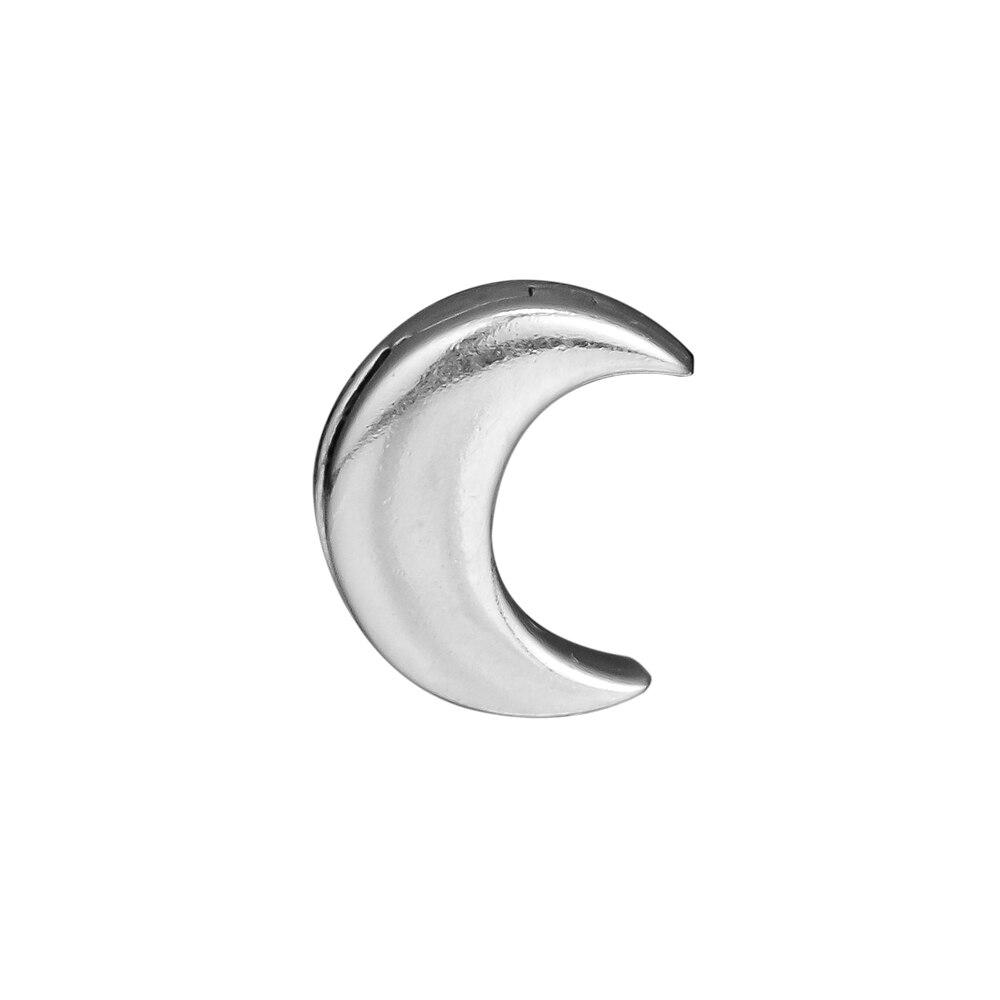 Pandulaso reflexiones Luna Clip Charm Fit pulseras de joyería de plata esterlina para mujer DIY perlas para la fabricación de la joyería