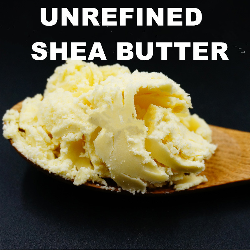 Handmade soap base oil raw material natural unrefined shea butter canned 1kg grease