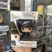 Exclusive Funko pop Official Harry Potter Ron Weasley with Sorting Hat Vinyl Action Figure Collectible Model Toy In Stock