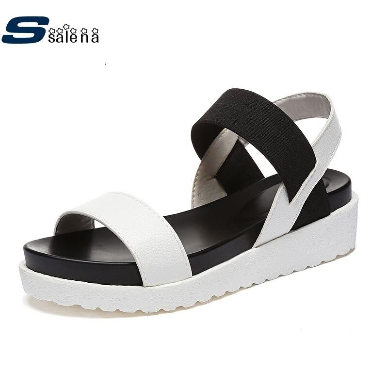 Sandals Women 2017 Non Slip Nice Wedge Sandals Summer Beach Shoes AA40143