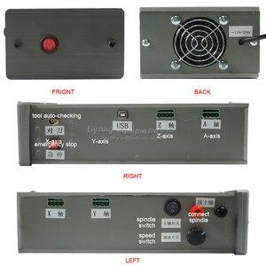 Image 3 - 4 Trục Cắt CNC Máy Mach3 Điều Khiển CNC Router Khắc 3040 PCB Máy