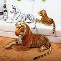 50 см 110 см Король леса моделирование желтый Белый тигр плюша игрушка кукла модель диван автомобильные Подушки Держать подушку дети подарок для ребенка
