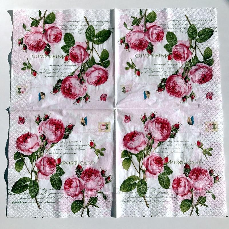 Paper Napkins for Decoupage//3ply//Piggies//Decorative Paper// Card Making x 2