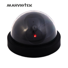 Indoor Fake IP Camera wifi Dome security video Surveillance dummy camera cctv videcam Mini Camera Flashing LED Light