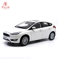 Paudi Model 1/18 1:18 Scale Ford All New Focus 2015 White Diecast Model Car Toy Model Car Doors Open