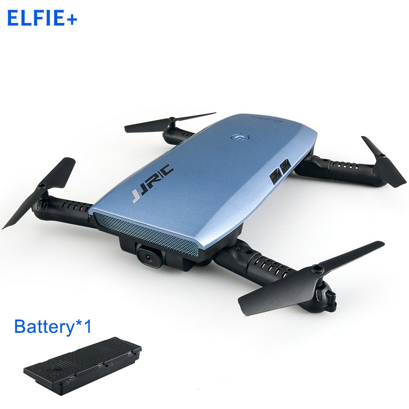 JJRC H47 ELFIE Plus Mini Selfie Drone with HD 720P WIFI FPV Camera Gravity Sensor Helicopter Foldable Quadcopter with Battery