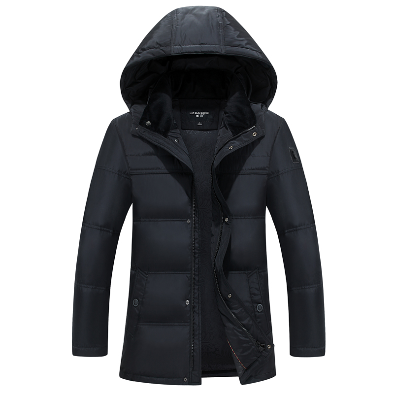 Men winter Hoodies quilted jacket warm fashion Men's puffer overcoat parka Outwear Winter cotton padded hooded warm coat thick hot sale winter jacket men fashion cotton coat warm parka homme men s causal outwear hoodies clothing mens jackets and coats