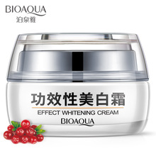 Bioaqua Whitening Brightening Cream Moisturizing Nourishing Dilute Melanin Fade Spot Deep Hydrating Anti Wrinkle Day