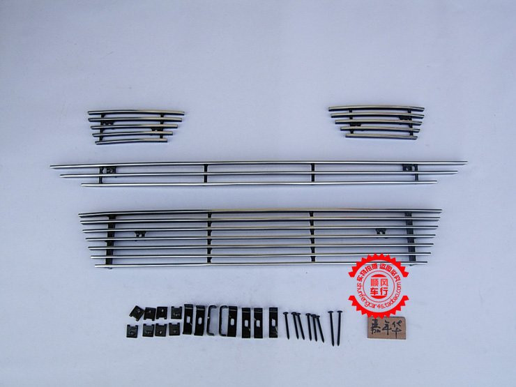 High quality stainless steel Front Grille Around Trim Racing Grills Trim For 2009-2012 Fiesta sports 5dr abs chrome front grille around trim racing grills trim for 2013 hyundai santa fe ix45