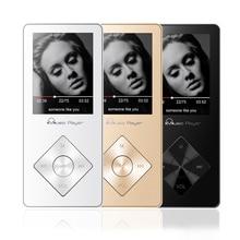 Reproductor portátil de mp3 con Altavoz 8 GB Reproductor de Música MP3 Walkman Audio reproductor de Vídeo Reproductor de Alta Fidelidad de Sonido Ampliable hasta 64 GB TF Coche