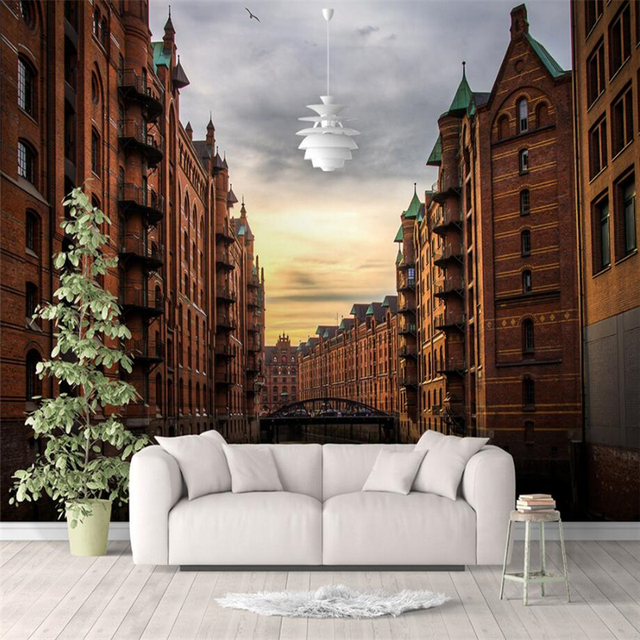 beibehang large custom wallpaper italy venice twilight water wallbeibehang large custom wallpaper italy venice twilight water wall mural background wall decorative painting