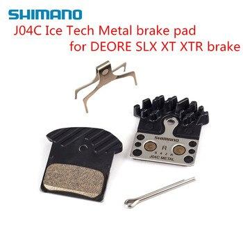 Shimano J04C bike bicycle mtb Metal brake pad for M9020 M985 M988 M8000 M785 M7000 M6000 M676 M615 upgrade for F03C