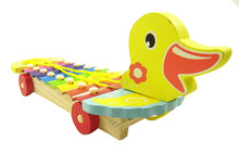 8 notizen ente tiere holz xylophon toys musikinstrumente für kinder pädagogisches baby entwicklung toys d326