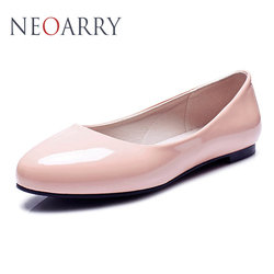 Neoarry flat shoes spring autumn fashion round toe shallow mouth casual and comfortable big yards women.jpg 250x250