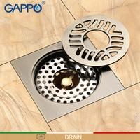 GAPPO Drains bathroom floor drain shower floor cover anti odor drainers bathroom shower drains stoppers