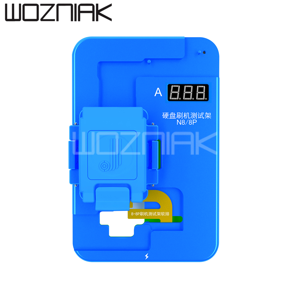 <font><b>JC</b></font> <font><b>Nand</b></font> Testing Fixture N7 N8 NX for iPhone 7 7P 8 8P Free Battery Brushing Hard Disk Auto Detecting image