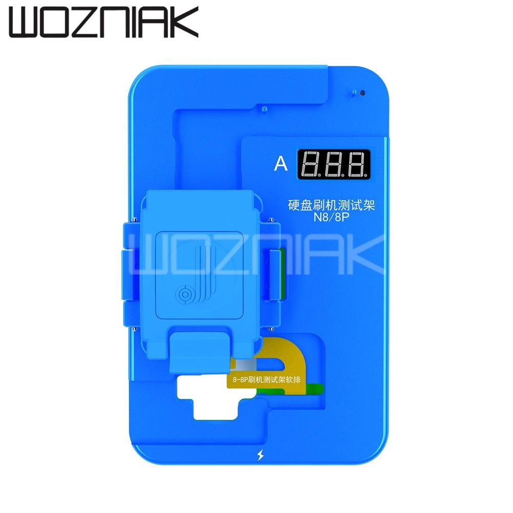 JC Nand accesorio de prueba N7 N8 NX para iPhone 7 7P 8 8P batería libre cepillado Disco Duro Auto detección