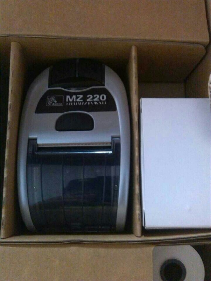 все цены на Special price!!full new For Zebra MZ 220 Mobile Thermal Printer bluetooth Version онлайн